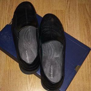 Womens black loafer/flats